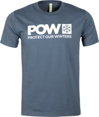 Protect Our Winters POW Logo T-Shirt - pacific