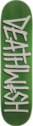 Deathwish Deathspray 8.25 Skateboard Deck - green