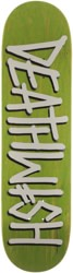 Deathwish Deathspray 8.25 Skateboard Deck - lime
