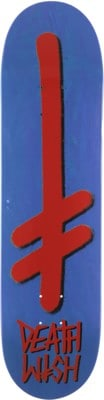 Deathwish Gang Logo 8.0 Skateboard Deck - blue - view large