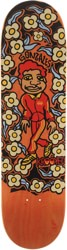 Krooked Gonz Sweatpants 8.5 Skateboard Deck - orange