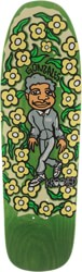 Krooked Gonz Sweatpants 9.81 Skateboard Deck - green