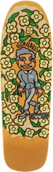 Krooked Gonz Sweatpants 9.81 Skateboard Deck - yellow