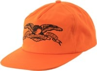 Anti-Hero Basic Eagle Snapback Hat - orange/black