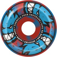Spitfire Formula Four Conical Full Skateboard Wheels - afterburn blue/red swirl (99d)