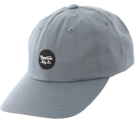 Brixton Wheeler Strapback Hat - grey blue - view large