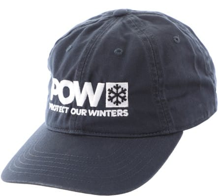 Protect Our Winters POW Logo Dad Hat - pacific - view large