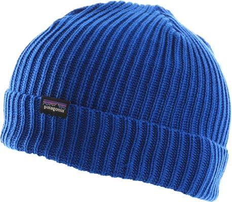 Patagonia Fisherman's Rolled Beanie - alpine blue - view large