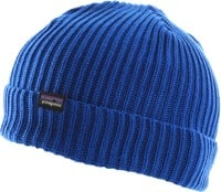 Patagonia Fisherman's Rolled Beanie - alpine blue