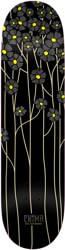 Real Chima Poppy Fields Redux 8.06 Full SE Shape Skateboard Deck - black
