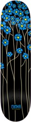 Real Chima Poppy Fields Redux 8.06 Full SE Shape Skateboard Deck - blue