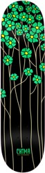 Real Chima Poppy Fields Redux 8.06 Full SE Shape Skateboard Deck - green