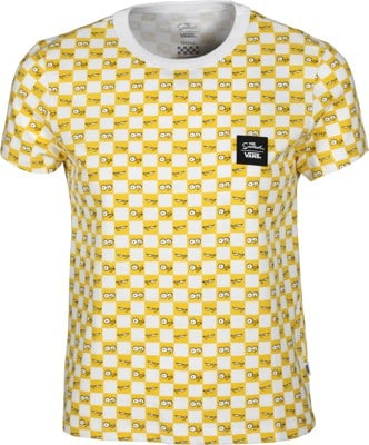 Vans Women's The Simpsons Check Eyes T-Shirt - (the simpsons) check eyes - view large