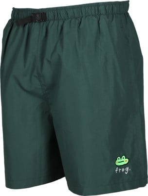 Frog Swim Trunks Boardshorts - green - view large