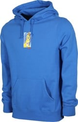 HUF Messed Up Bunny Hoodie - dynamic cobalt