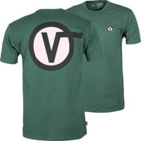 Vans Off The Wall Classic Circle V T-Shirt - pine needle