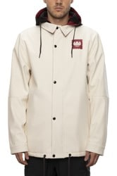 686 Forest Bailey Waterproof Softshell Coaches Jacket - birch
