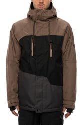 686 Geo Insulated Jacket - tobacco colorblock