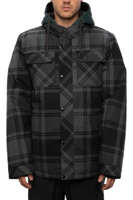686 Woodland Insulated Jacket - dark spruce plaid - view large