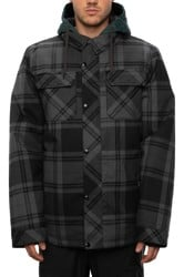 686 Woodland Insulated Jacket - dark spruce plaid