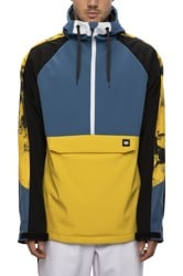 686 Waterproof Anorak Softshell Jacket - blue storm colorblock