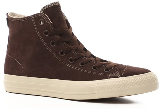 Converse Chuck Taylor All Star Pro High Skate Shoes - dark root/dark root/egret - view large