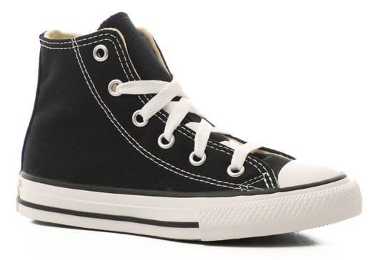 Converse Kids Chuck Taylor All Star Hi Top Shoes - black - view large