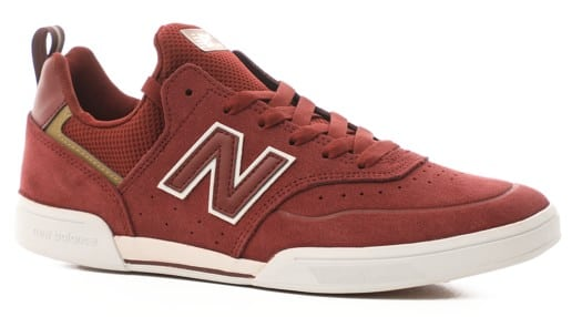 New Balance Numeric 288 Sport Skate Shoes - burgundy/white - view large