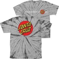 Santa Cruz Kids Classic Dot T-Shirt - spider silver