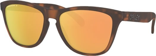 Oakley Frogskins Polarized Sunglasses - matte brown tortoise/prizm rose gold polarized lens - view large
