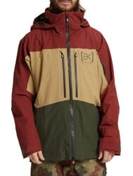 Burton AK Gore-Tex Swash Insulated Jacket - sparrow/kelp/forest night