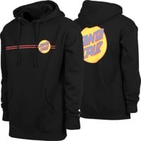 Santa Cruz Other Dot Hoodie - black/mustard