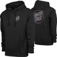 Santa Cruz Linear Dot Hoodie - black