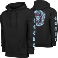 Santa Cruz Speed Wheels Faces Hoodie - black