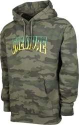 Creature Logo Outline Hoodie - forest camo