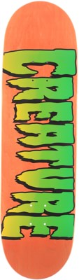 Creature Logo 8.8 Stumps Skateboard Deck - orange - view large