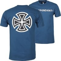 Independent Bar/Cross T-Shirt - harbor blue