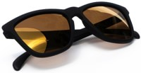 Dang Shades Original Premium Polarized Sunglasses - black/bronze gold mirror polarized lens