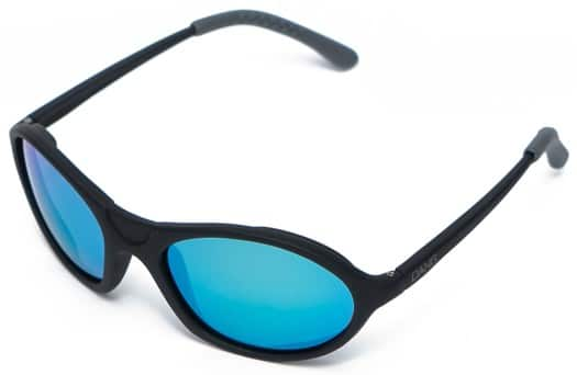 Dang Shades Glacier Polarized Sunglasses - black/blue mirror polarized lens - view large