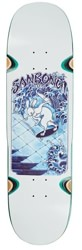 Polar Skate Co. Sanbongi Skate Rabbit 8.75 Side Cuts Shape Wheel Well Skateboard Deck