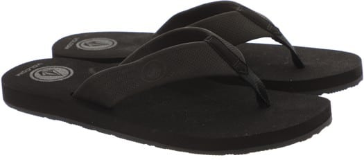 Volcom Daycation Sandals - black destructo - view large