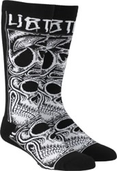 Lib Tech Jamie Lynn Riding Snowboard Socks - black