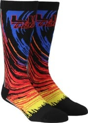 Lib Tech Parillo Riding Snowboard Socks - red