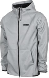 Burton Crown Weatherproof Fleece Full Zip Hoodie - gray heather