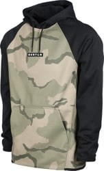 Burton Crown Weatherproof Fleece Hoodie - barren camo/true black
