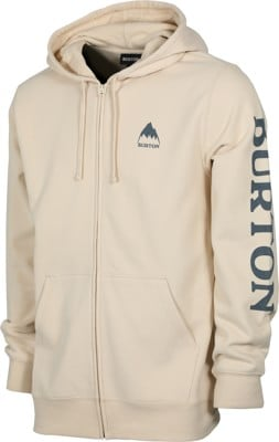Burton Elite Full Zip Hoodie - creme brulee - view large