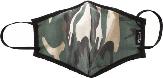 Brixton Antimicrobial Face Covering - camo - view large