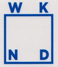 WKND Logo Sticker - royal