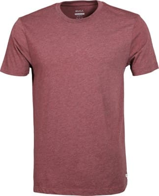 RVCA Solo Label T-Shirt - oxblood red - view large