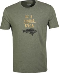 RVCA By A Thread T-Shirt - sequoia green